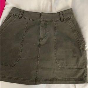 Abercrombie green skirt